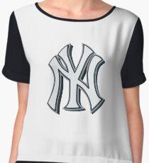 New York Yankees 3D Chiffon Top