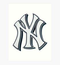 New York Yankees 3D Art Print