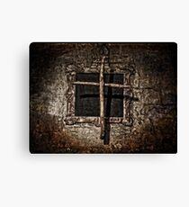 Rustic Cross Canvas Print