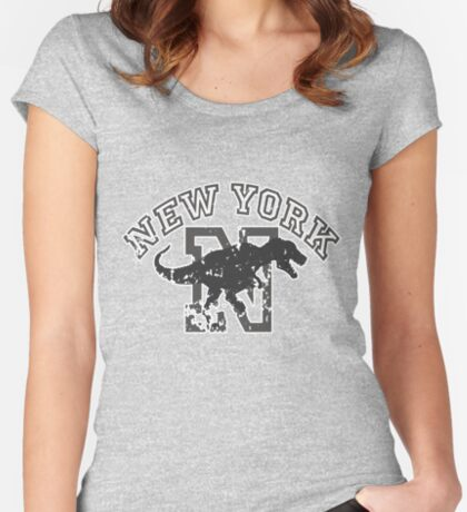 New York T-shirt Women's Fitted Scoop T-Shirt