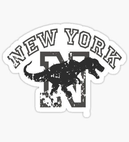 New York T-shirt Sticker