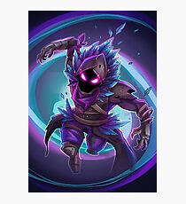 Fortnite Battle Royale - Raven Epic Skin Fan Art Photographic Print