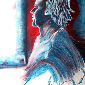 Soft Pastel Life Drawing  by TeAnne