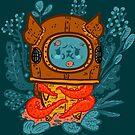 Deep Sea Diver Bub by fluffymafi