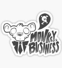 Monkey Business Sticker