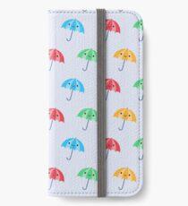 Rainy Day Kawaii Umbrellas iPhone Wallet/Case/Skin