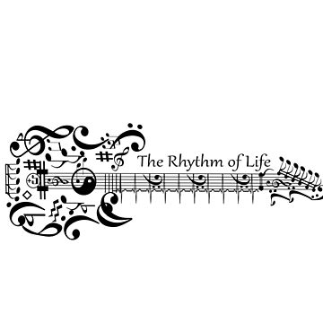 Guitar - the rhythm of life by saleire