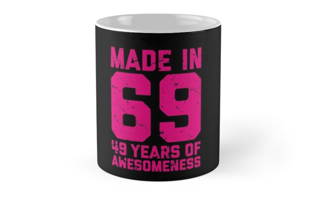 49th Birthday Gift Adult Age 49 Year Old Women Womens By Matt L