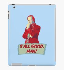 Saul Goodman - S'all good, man! - Better Call Saul iPad Case/Skin