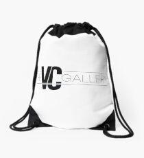 VC Gallery Logo Large Drawstring Bag