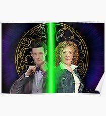 Doctor and River Song Poster