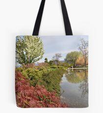 Penticton Japanese Garden  Tote Bag