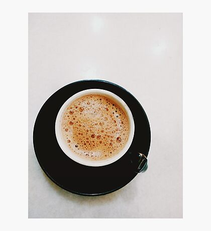 simple coffee time Photographic Print