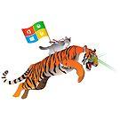 Ninja Cat Tiger by estruyf