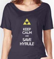 Keep Calm And Save HYRULE Women's Relaxed Fit T-Shirt