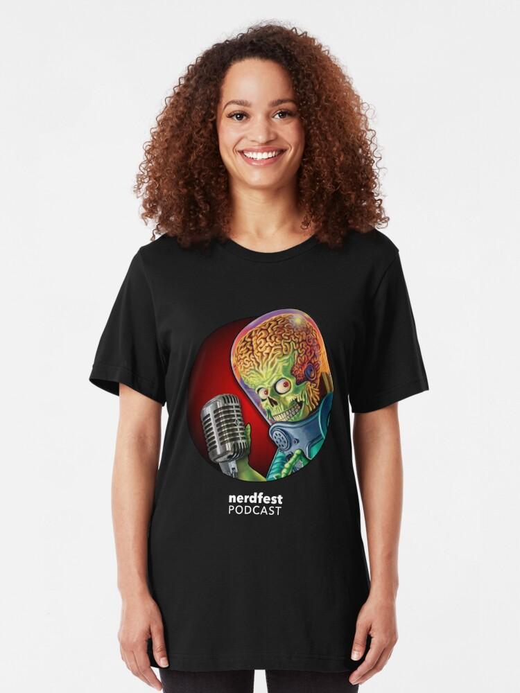 Alternate view of Nerdfest Slim Fit T-Shirt