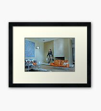 The Trophy Wife Framed Print