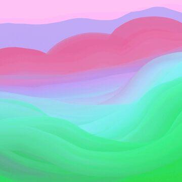 Gentle Hills by BettyMackey