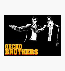 Gecko Brothers Photographic Print