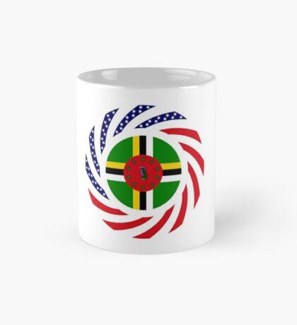 Dominica American Multinational Patriot Flag Series Mug