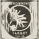 the brownie target by Jill Auville