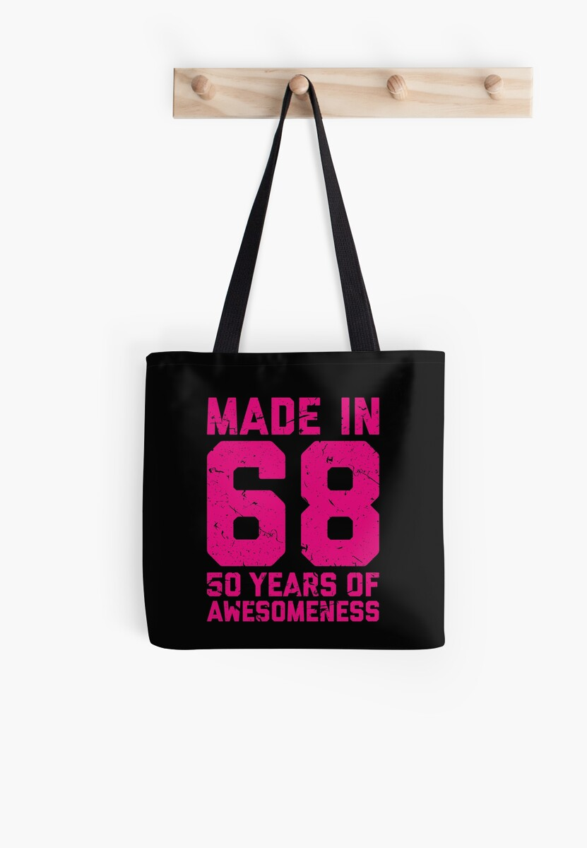 50th Birthday Gift Adult Age 50 Year Old Women Womens Tote Bag By Matt L