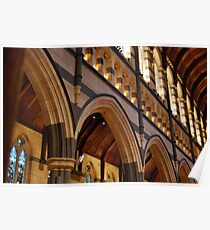 Cathedral arches Poster