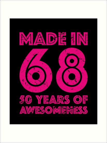 50th Birthday Gift Adult Age 50 Year Old Women Womens By Matt L