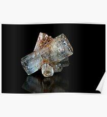 Beryl Crystals Poster