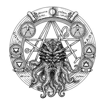 Cthulhu Pentagram by jflemay