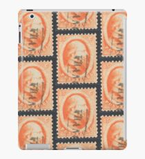 15c orange stamp (Netherlands, 19th century) iPad Case/Skin