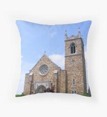 New Providence Presbyerian Church  Throw Pillow