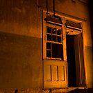 Firelit Doorway by Liam MacKenzie