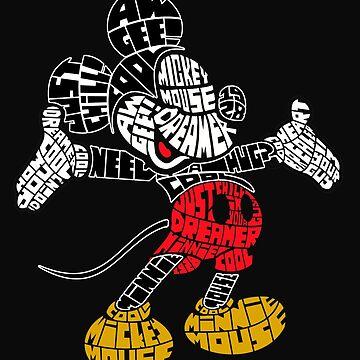 Aw Gee Mouse Word Art Spoof by GarnetLeslie