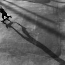 skatepark shadows by Victor Bezrukov