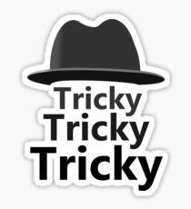 Run DMC Tricky Hat Design Sticker