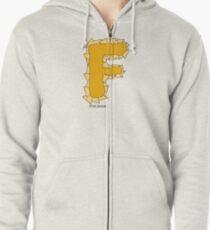 FFFFFFF - F'n Nachos Zipped Hoodie