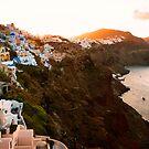 Sunrise in Beautiful Village of Santorini, Greece by Yen Baet