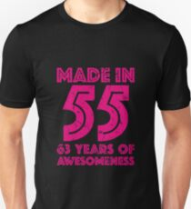 63rd Birthday Gift Adult Age 63 Year Old Women Womens Unisex T Shirt