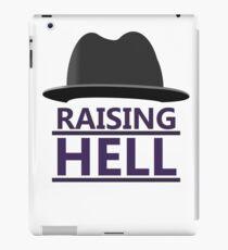 RUN DMC Raising Hell Hat Design iPad Case/Skin