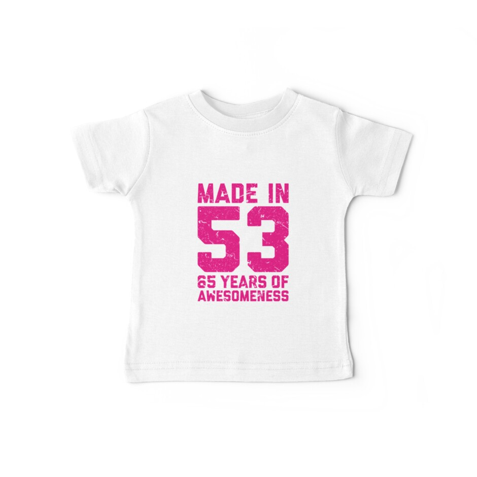 65th Birthday Gift Adult Age 65 Year Old Women Womens By Matt L