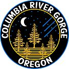 Columbia River Gorge National Scenic Area Oregon Cascade Mountains by MyHandmadeSigns