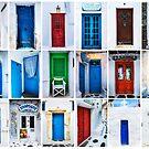Doors of Greece by Yen Baet