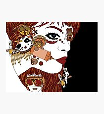 Steampunk Face Photographic Print
