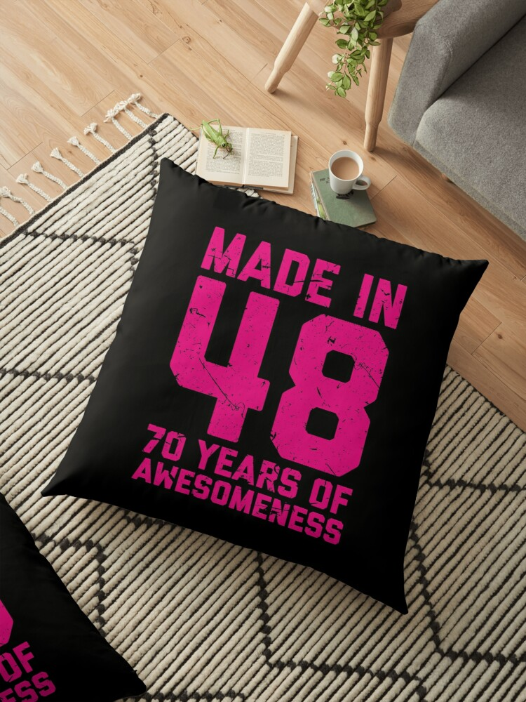 70th Birthday Gift Adult Age 70 Year Old Women Womens