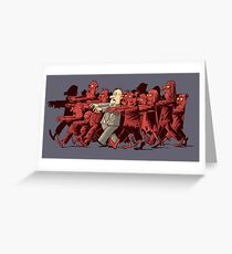 zombies!!! Greeting Card