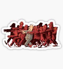 zombies!!! Sticker