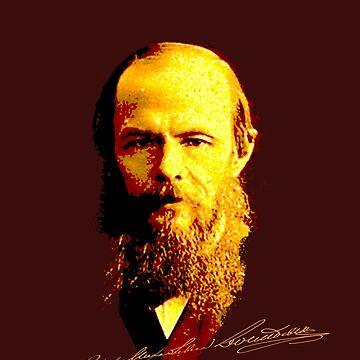 Fyodor Dostoyevsky by mindprintz