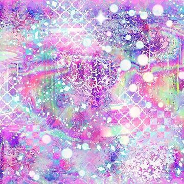 Pink Sparkly Holographic by SaradaBoru