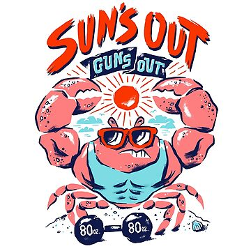 Suns Out Crab by walterarcher